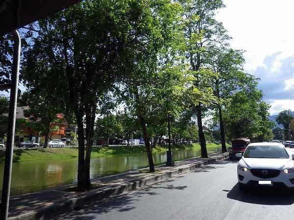 ソンテウからの景色inチェンマイ