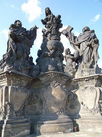 カレル橋の彫刻:チェコ