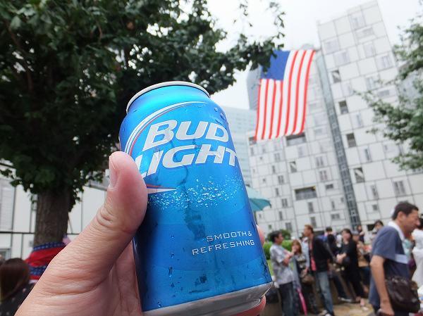 Budweiser light:バドワイザーライト:アメリカンビール:フレンドシップデー