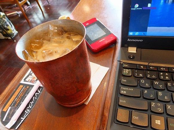 横浜のカフェ:上島珈琲店でノマド作業中です