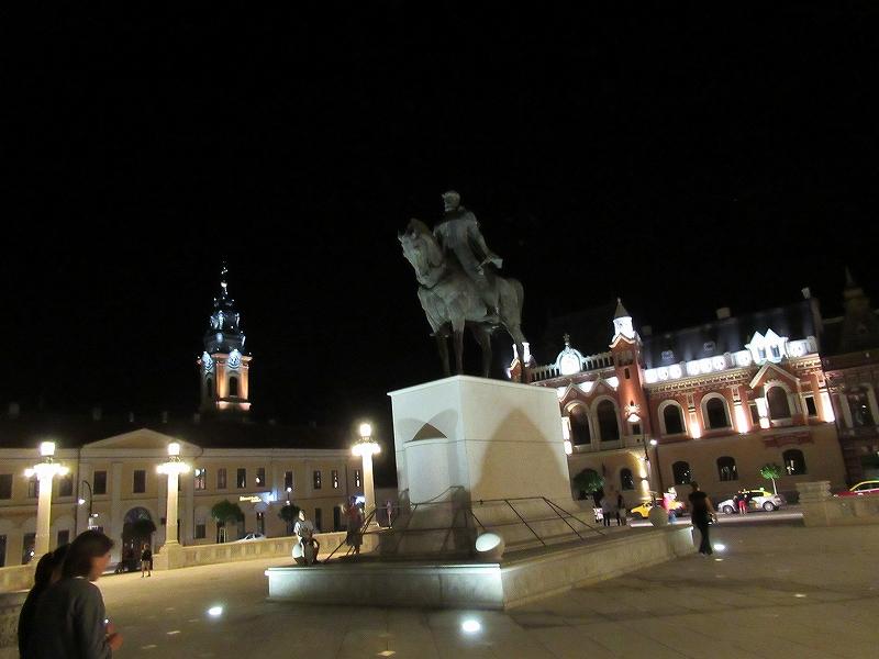ルーマニアオラデアの勝利広場