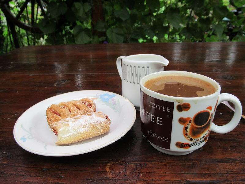 シギショアラで食べた朝食:ルーマニア旅行