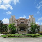 レオパレスリゾートグアムのロビー&ホテルの建物