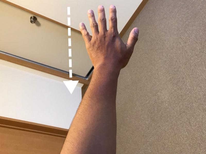 手の甲と手首だけツーリングで日焼け