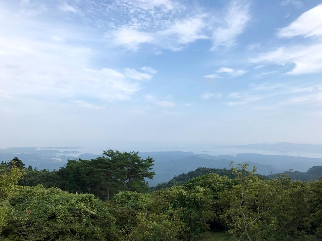 田束山山頂からの景色1
