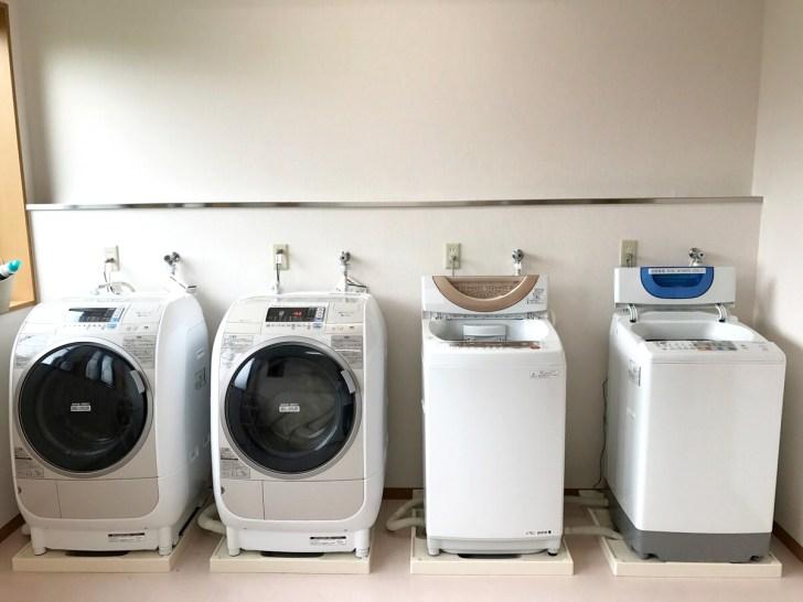 南三陸シェアハウス・花見山ハウスの洗濯機