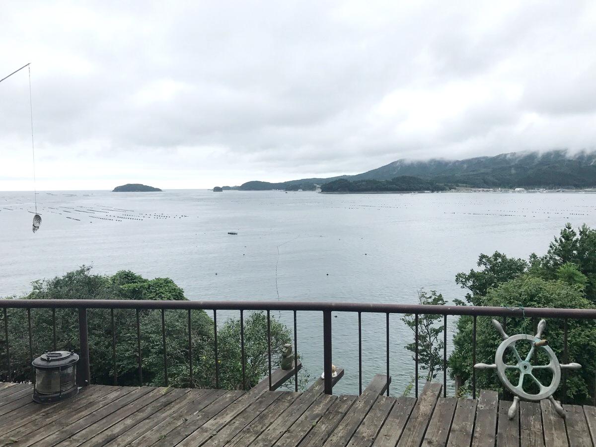 景色が素晴らしい!珈琲神社:南三陸
