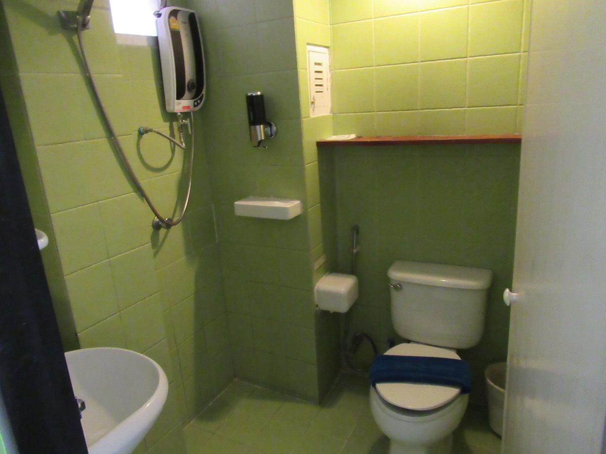 シャワーもしっかりお湯が出たサワディースクンビットイン