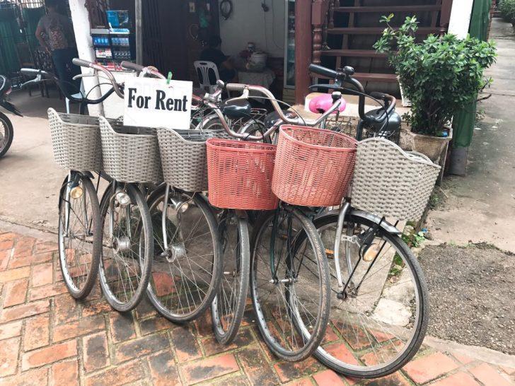 自転車も借りれる!ヴィエンチャンのホテル・Vホテル