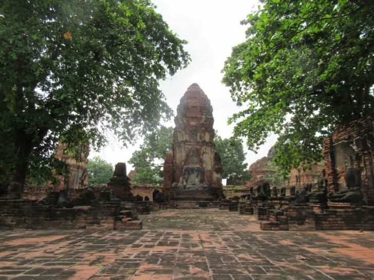 アユタヤ遺跡・ミャンマーに攻撃されるまで栄えていた