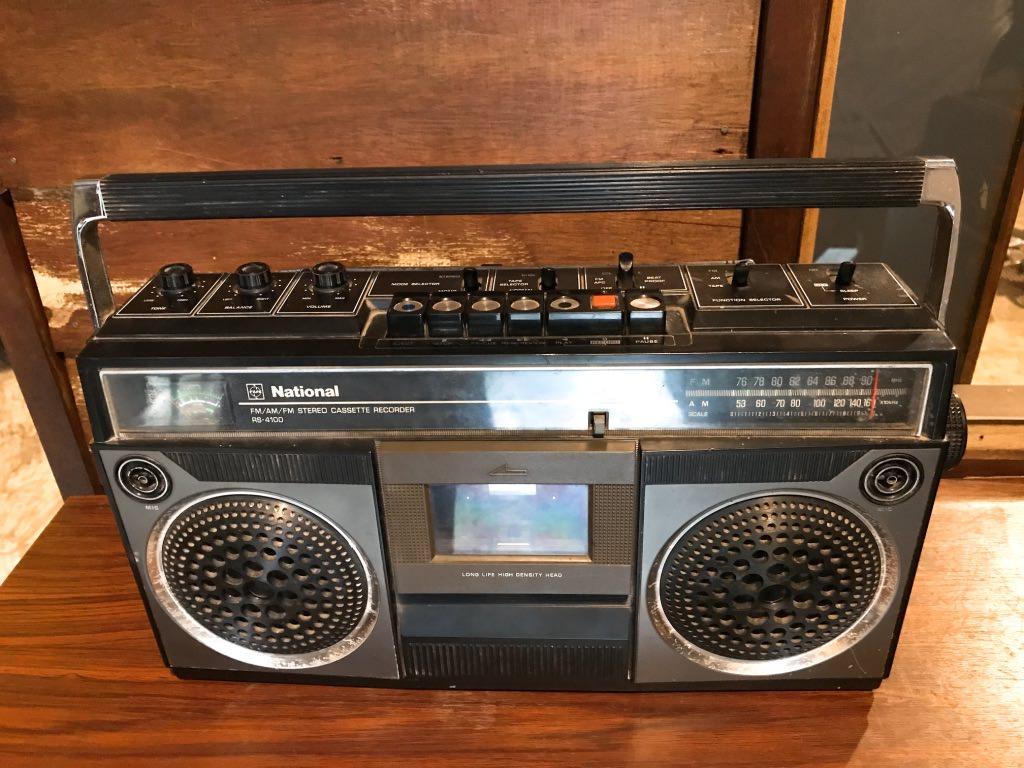 懐かしい録音機カセットレコーダー!バーン・バンケーン博物館