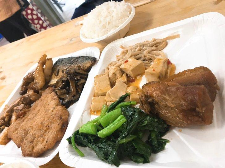 これで200台湾ドル・台湾朝ごはん・食堂