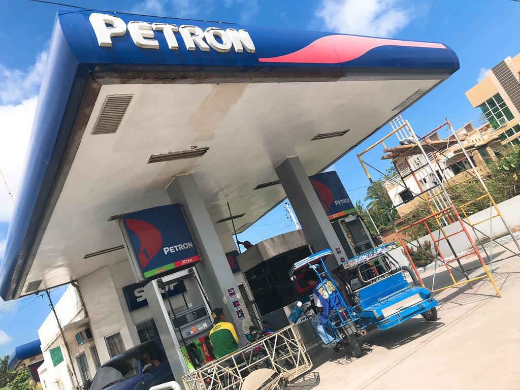 ガソリンを入れますー・プエルトガレラ