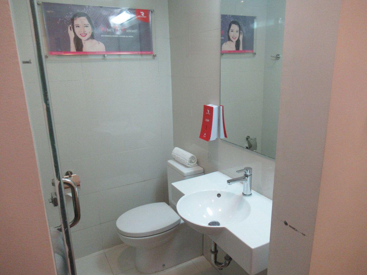 トイレ・エアアジア系列のホテル・マニラ