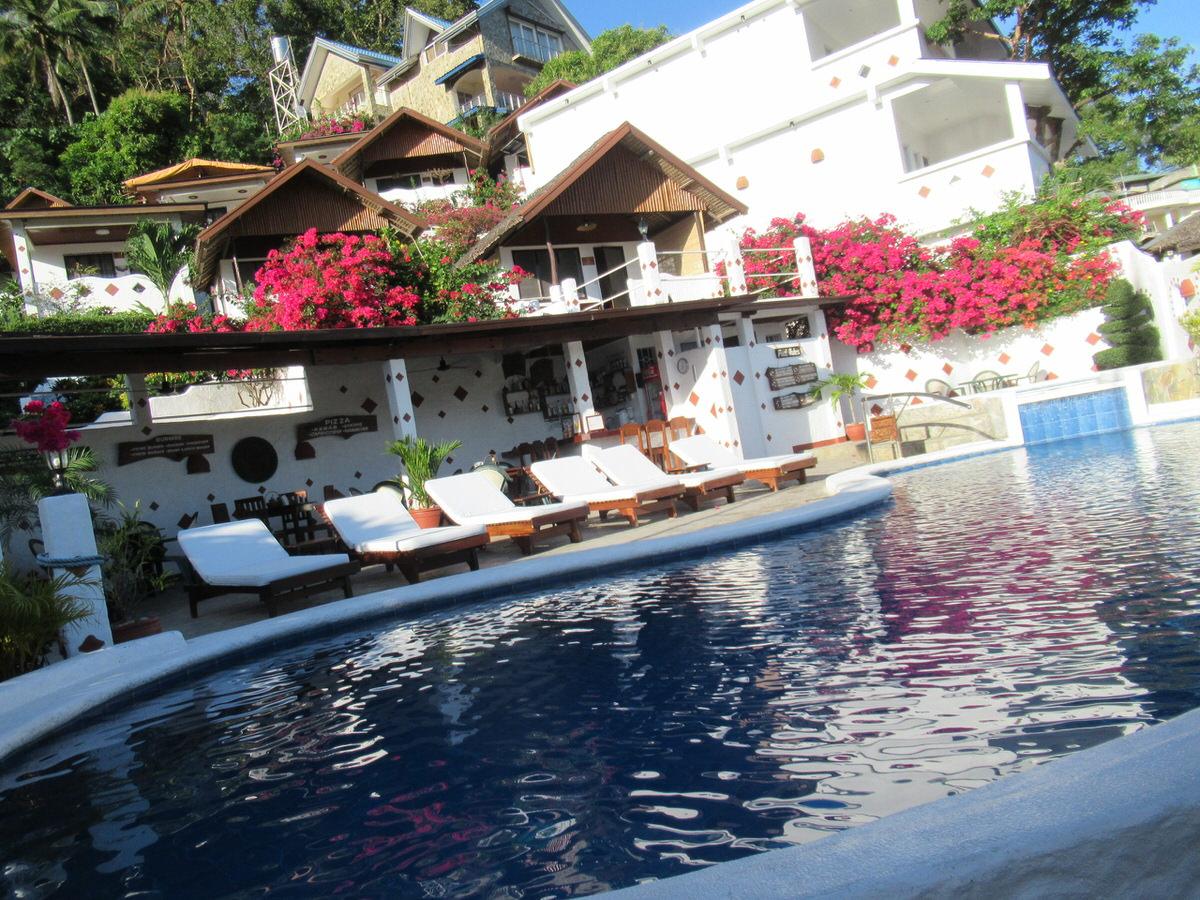 ステップスガーデンリゾートホテルのプール・プエルトガレラ