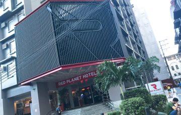 外観・エアアジア系列のホテル・マニラ