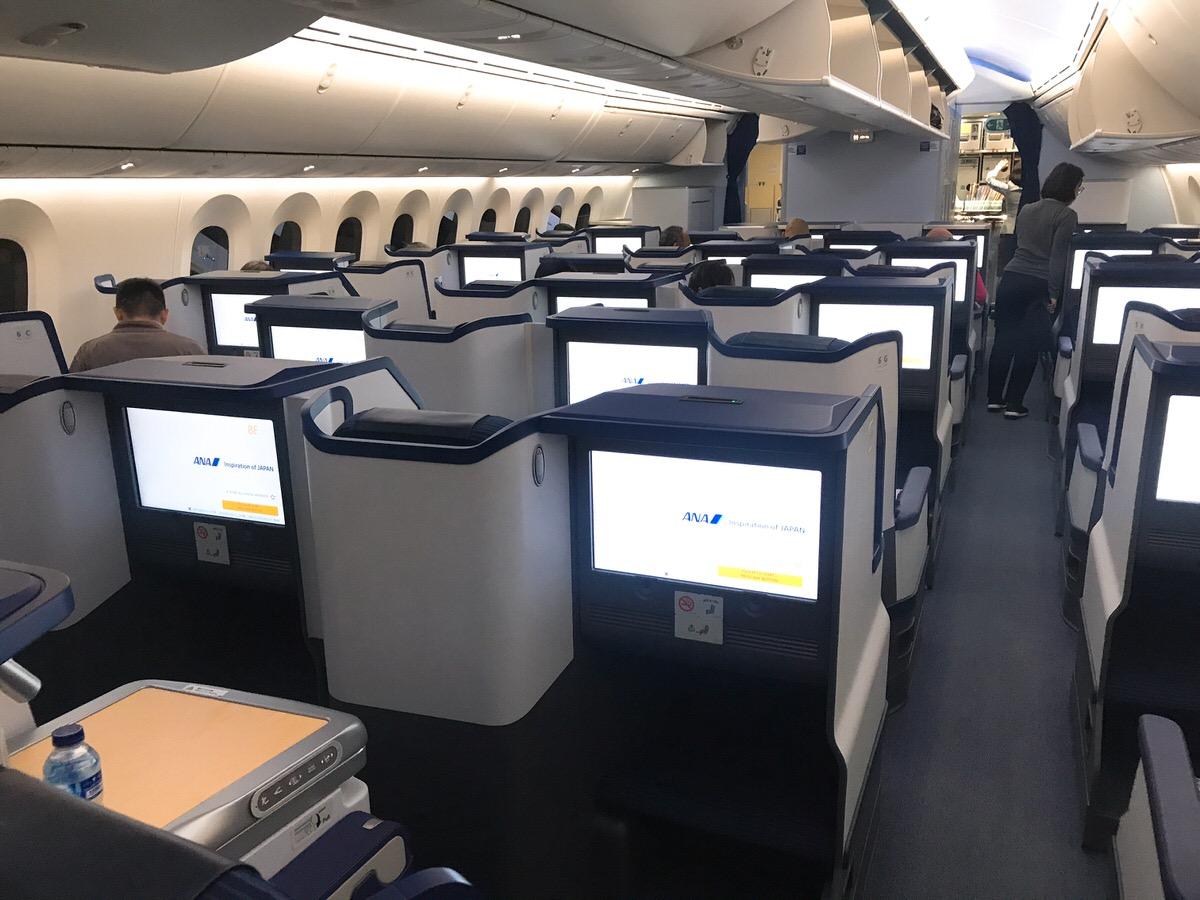 ANA&ガルータインドネシア航空ビジネスクラス