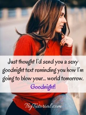 Sexy Goodnight Texts For Him : goodnight, texts, 34+35, Night, Quotes, Extra, Sweet, Dreams, TryTutorial