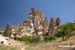 Zamek w Goreme, Kapadocja, Turcja