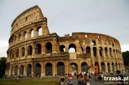 Koloseum. Jeśli Rzym ma jakiś symbol, to jest nim włąśnie Koloseum