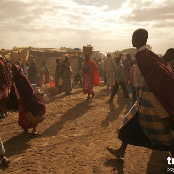 Ol Doinyo Sambu- przechodni targ masajski