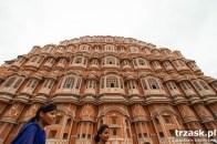 Pałac Wiatrów w Dżajpurze (różowym mieście )- kiedyś pałac dla haremu Maharadży