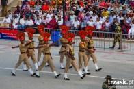 Pokaz sił na granicy Indii z Pakistanem