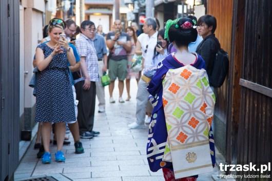 Gejsze – od zawsze wzbudzały zainteresowanie przybyszów Japonia