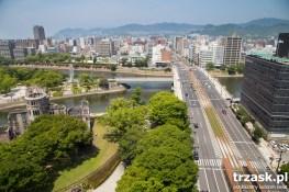 Hiroshima – okolice epicentrum wybuchu bomby atomowej
