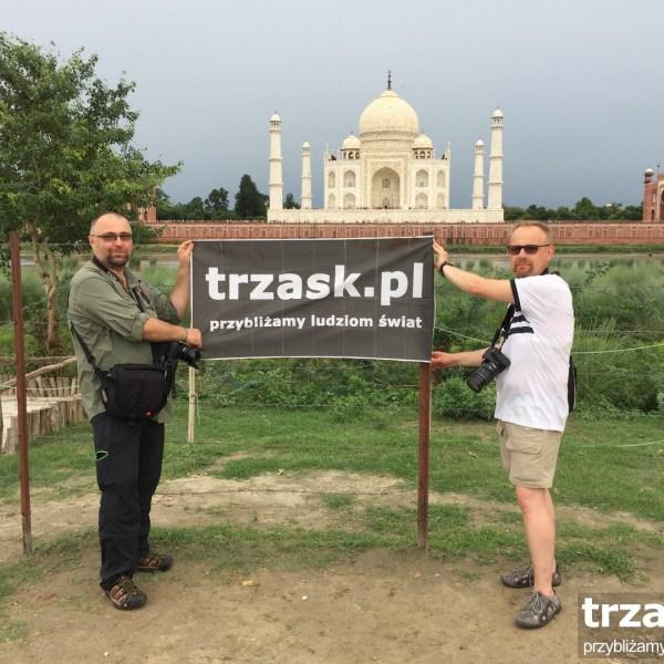 Podróżnicy trzask znów pod Taj Mahal