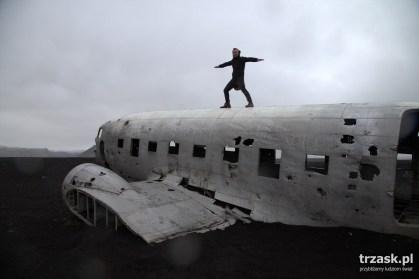 Samolot Dakota Islandia