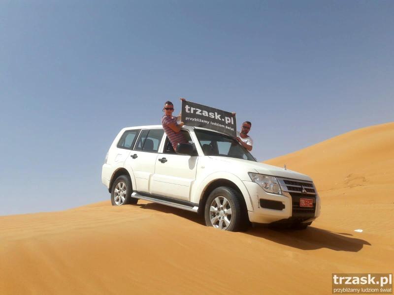 Oman pustynia