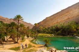 When I think of an oasis, I imagine something like this picture. Wadi Bani Khalid. Oman.