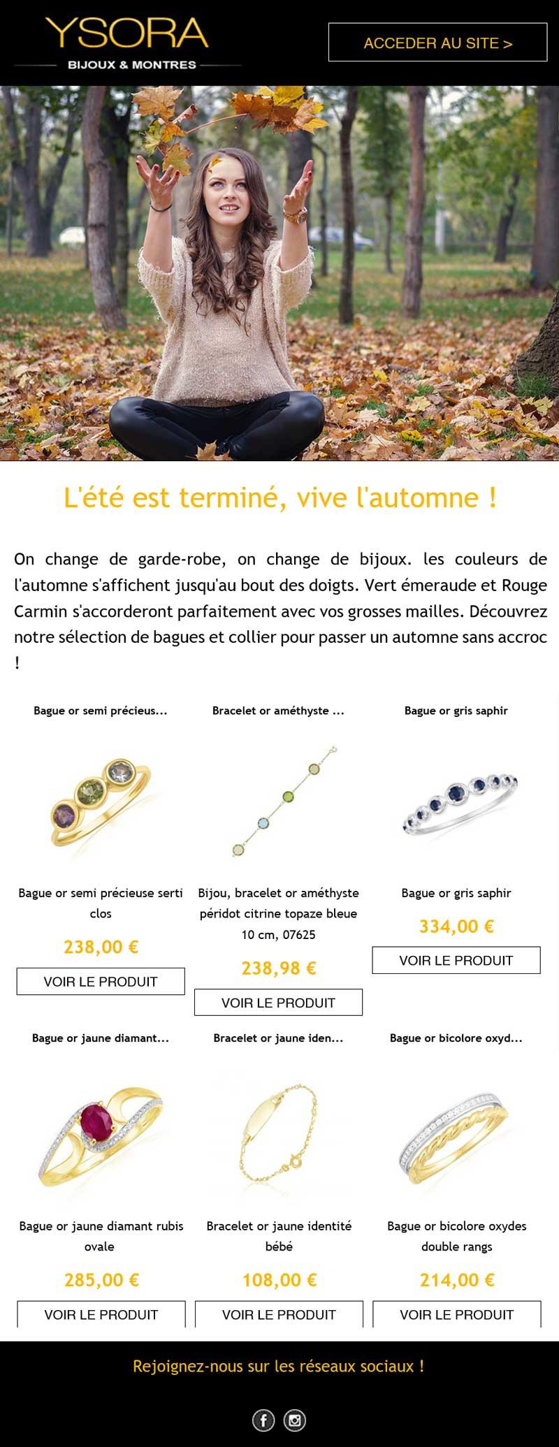 Newsletter Ysora - octobre 2019