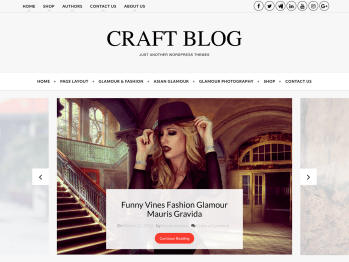 Craft Blog Screenshot