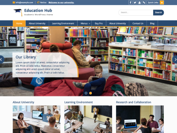 Education Hub Screenshot