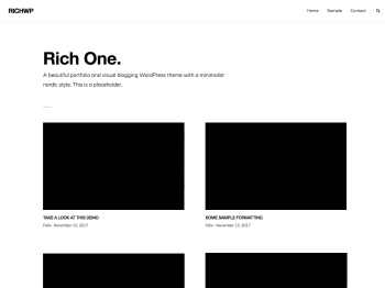 RichOne Screenshot