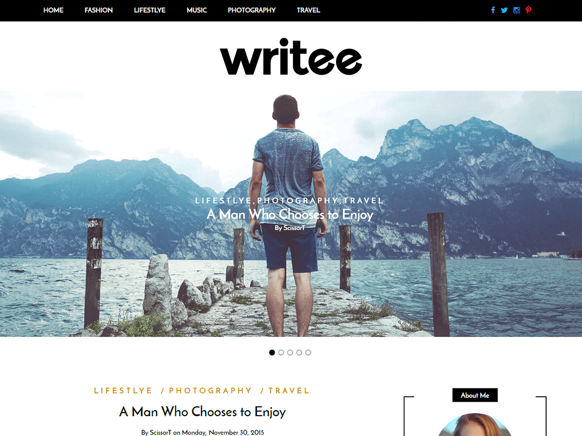 Writee Screenshot