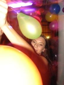 Meglepetés lufi party...