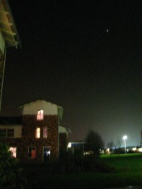 Campus by night!