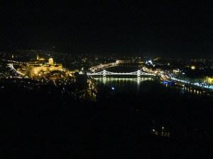 Budapest panoráma éjszaka