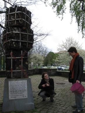 Magyar szobor Hannoverben!!!