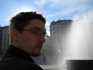 Brno Jeremy és szökőkút