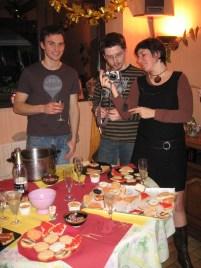 La soupe de champagne et les photos