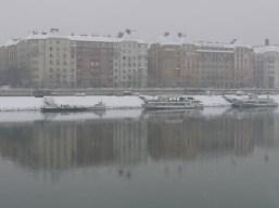 Házak a Duna mentén