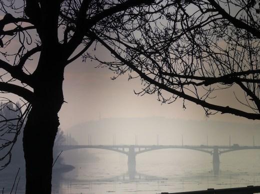 Margit híd télen