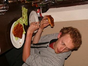 Velős szendvics - helyi specialitás