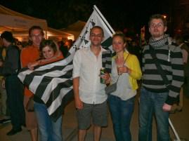 Breton zászló előtt