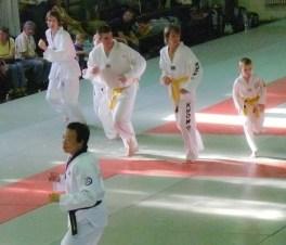 Nemzeti Koreai Taekwondo válogatott edzése 2009. 09. 27.