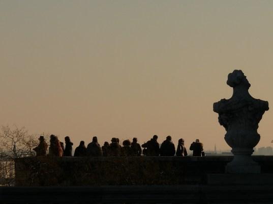 Turisták a várban